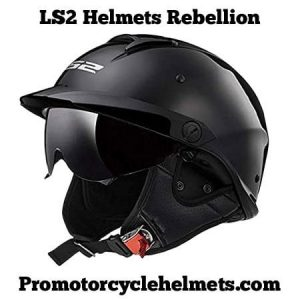 LS2 Helmets Rebellion Open Motorcycle Helmet