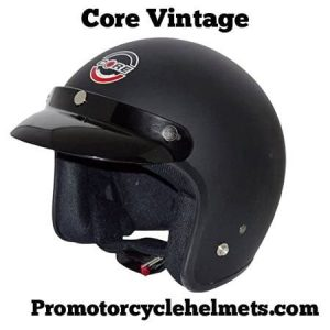 Core Vintage Open Face Helmet