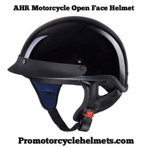 AHR Motorcycle Open Face Helmet