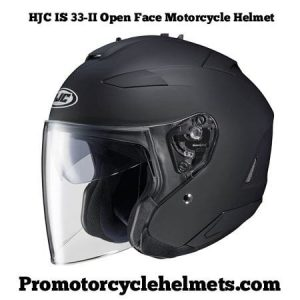 HJC IS 33-II Open Face Motorcycle Helmet