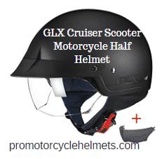 GLX Cruiser Scooter Motorcycle Half Helmet
