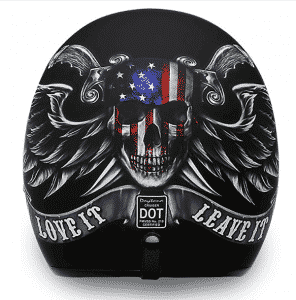 Daytona Open Face Cruiser Motorcycle Helmets