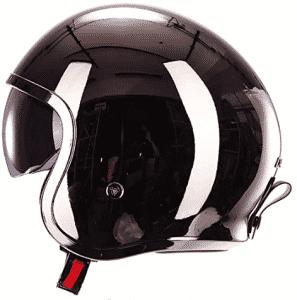 Laleo Custom Personality Half Motorcycle Helmet Vintage Style