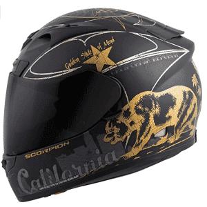 Scorpion Exo R710 Golden State Street Motorcycle Helmet