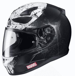 HJC Marvel Unisex Adult-Face Punisher 2 Motorcycle Helmet