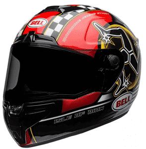 Bell Street Isle Of Man Street Motorcycle Helmet