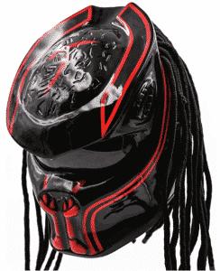 Unisex Predator Motorcycle Helmet