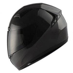 Genuine Carbon Fiber Motorcycle Street Bike Helmet