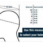 how to measure motorcycle helmet size